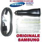 CARICABATTERIA DA AUTO + CAVO USB SAMSUNG ORIGINALE GALAXY S6 EDGE ECA-P10CBE