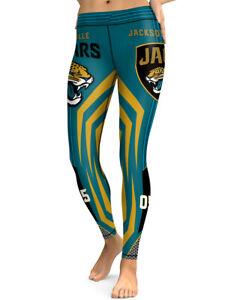 Jacksonville Jaguars Leggings Small-XXL (0-14) Jags Football Womens Game Gear