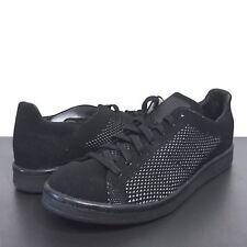 ADIDAS Originals Mens Stan Smith Black Knit Sneakers 8 9 10 10.5 13 (MSRP $110)