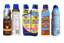 Sunscreen Pack of 2 Banana Boat- Argan Dry Oil Spf8 / Kids Spf 50+ / Sport Spf30