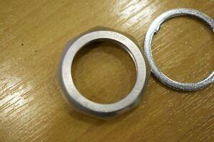 SUNTOUR SUPERBE Headset Top Nut 1'' M25x1 aluminium silver with washer lock NOS