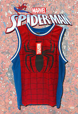 AMAZING SPIDERMAN Basketball Jersey/Tank Top Large SPIDER MAN