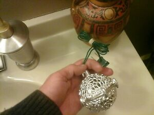 Vintage Chirping Bird Christmas Ball Ornament WORKS GREAT