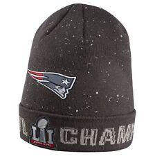 New England Patriots Nike SBLI Super Bowl 51 Champions Tom Brady Beanie Knit Hat
