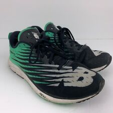 New Balance Mens Running Shoes Black Green M1500 Fabric Lace Up Low Top 9 2E