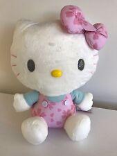 New Rare Big Authentic NWT Sanrio Hello Kitty Sakura Cherry Blossom Plush Doll