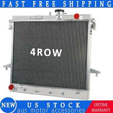 4 Row Aluminum Radiator For 09-12 Chevy Colorado Gmc Canyon 06-10 Hummer H3 H3T (Fits: Hummer)