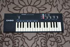 Vintage Vtg 80s 1980s Casio Pt-100 Electronic Keyboard Instrument Tested Works