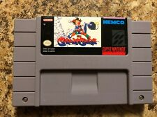KID KLOWN IN CRAZY CHASE SNES - **Cartridge Only**