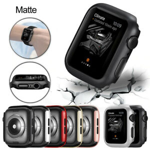 Soft Silicone Case for Apple Watch 6 SE 5 4 3 2 1 iWatch Cover Protection Bumper