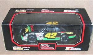 "Racing Champions - 1/24 - 1991 - Bobby Hillin - #42  ""Mello Yellow""  Pontiac GP"
