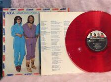 ABBA - GRACIAS POUR LA MUSICA - PROMO - RED VINYL