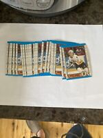 1989-90 OPC O-Pee-Chee #190 Craig Janney Rookie Card RC Boston Bruins Lot Of 22