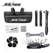 Bicycle Repair Bag & Bicycle Tire Pump, Bike Tool Portable Patches, US STOCK