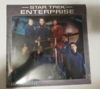 Star Trek: Enterprise 2005 Wall Calendar Sealed in Original Packaging