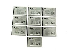 Lg Lgip-400N   10 battery Lot   Optimus  Vm670 Ls670 Ms690 P500 P 509   Oem   D