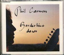 PHIL CARMEN-Borderline Down 3 trk Maxi CD 1991