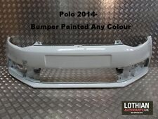 VW POLO 2014- NEW FRONT BUMPER PAINTED ANY COLOUR