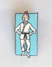 RARE Pin's Tintin Judo TDL 430 ETAT NEUF