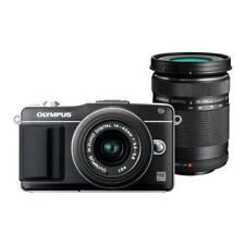 Near Mint! Olympus E-PM2 16MP with 14-42mm + 40-150mm Black - 1 year warranty