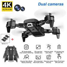 Faltbar Drohne mit 4K HD Dual KAMERA 2.4G FPV WIFI Video APP Quadcopter mit Box