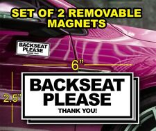 UBER Magnetic Car Door BACKSEAT
