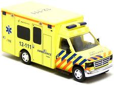 Busch Sondermodell Ford E-350 RTW Ambulance Amsterdam Airport Schiphol 1:87 H0