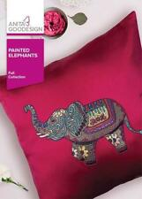 Painted Elephants Anita Goodesign Embroidery Design Machine Cd