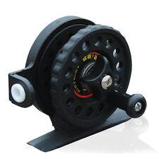 Black Ice Fishing Reel Portable Mini Pocket Fishing Tackle Reels Fishing Gear
