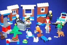 Lego® 7553 City Inhalt Adventskalender mit vielen Figuren in gutem Zustand