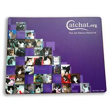 Rescue Gatos Eco Mouse Mat Brite-Mat Mouse Pad ratones ópticos y con cepellón Antideslizante