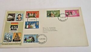 First Day Cover - April 1st 1970  'Anniversaries'  (10 Stamps)