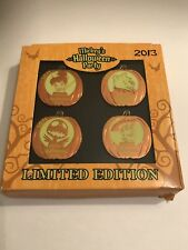 2013 Le Mickey's Halloween Party Pin Set