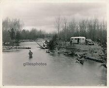 USA c. 1950 - Pêcheurs Auto Caravane - USA 62