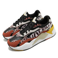 Puma RS-X3 W.Cats Wns Wildcats Black Rust Leopard Women Casual Shoes 373953-02