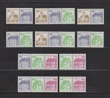 Briefmarken aus Deutschland (ab 1945) als Posten & Lots mit Bauwerks-Motiv
