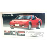 Vintage Fujimi Nissan 1985 Mid-4 Red Sports Car Scale 1:24 Model Kit Hi-So.Car