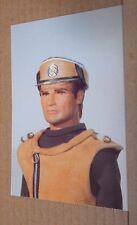 Postcard Captain Scarlet & The mysterons Captain ochre  yellow uniform unposted