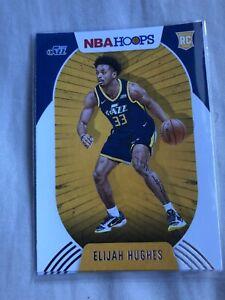 2020-2021 Panini Hoops Elijah Hughes Rookie Card #224