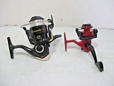 2 Shakespeare Fishing Reels - Model 35 & Microspin 2500ULX Ball Bearings