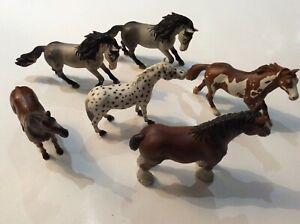 lot de 6 chevaux schleich