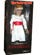 "MEZCO TOYZ The Conjuring ANNABELLE 18"" Life Size 1/1 Scale Figure Doll Replica"