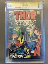 CGC SS Thor #189. From 1971. Signed By Stan Lee! Hela Vs Thor!!! Early Thor!!!