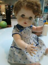 american charactor doll toodles with green flirty eyes