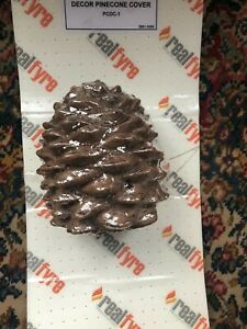 Real Fyre PCDC-1 Decorative Pine Cone Cover Gas Log Remote Control Cover