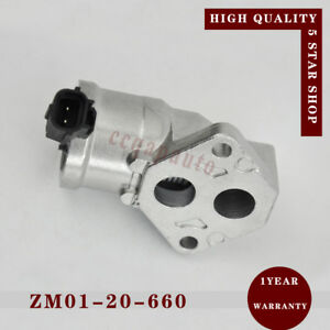 OEM# ZM01-20-660 IAC Idle Air Control Valve for 1999-2003 Mazda Protege 1.6L L4