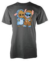 Groot Stitch Adult T Shirt