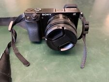 Sony Alpha A6000 with SELP1650 16-50mm Lens