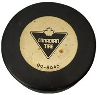 Hole! VINTAGE CANADIAN TIRE OFFICIAL HOCKEY PUCK RARE MADE IN 🇨🇿 99-8645