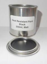 250ml MATT BLACK Heat Resistant Paint, Engine Caliper Free Post